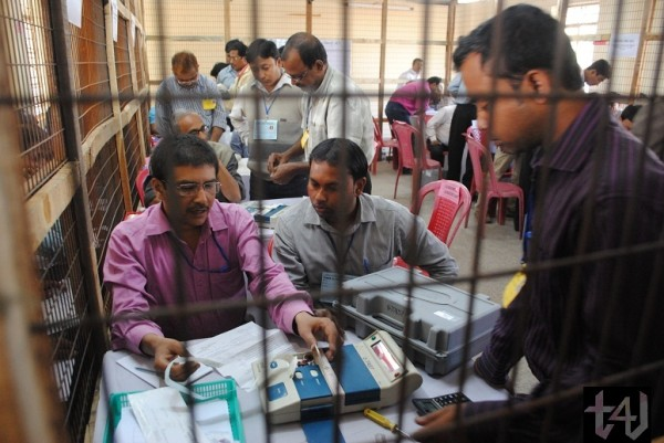 Tripura Elections 2013 - counting (2)