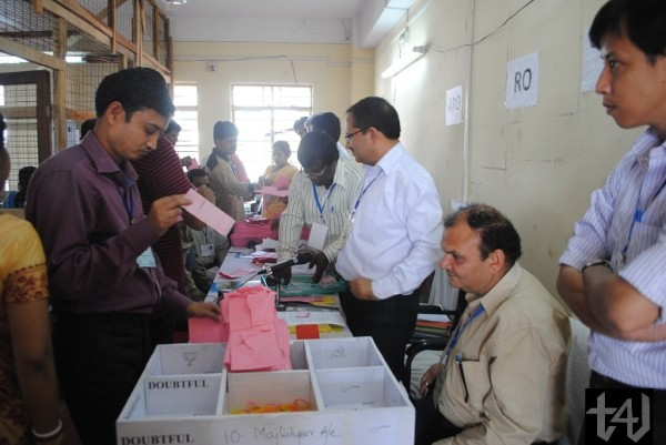 Tripura Elections 2013 - counting (3)
