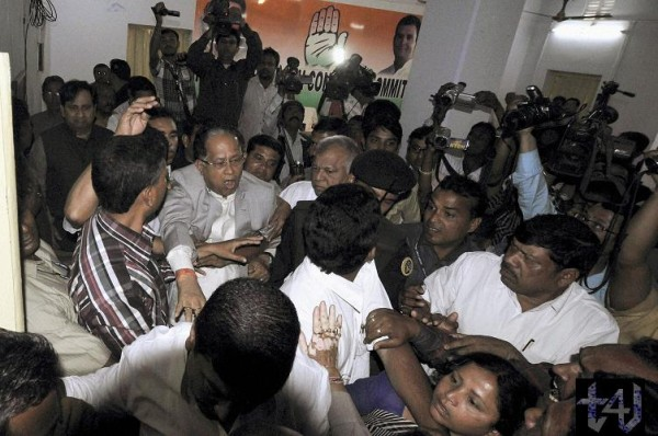 Attack on Tarun Gogoi