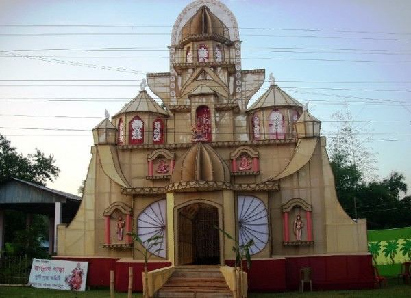 Durga Puja from different corners of Tripura | Tripura4u com