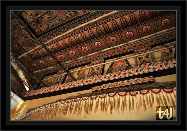 Interior of Desh bandhu chittaranjan Club- Decorated using food grains (1)