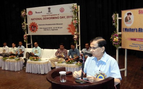 National Deworming Day celebrated at Rabindra bhavan, Badal Chowdhury chief guest (3)